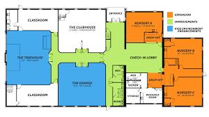 childcare floor plan next gen campaign central christian church