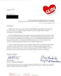 thank you letter for donation to non profit letter idea 2018