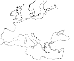 blank europe map with country names history sourcebooks project