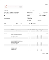 cash invoice templates 10 free word pdf format download free