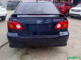 toyota corolla s 2005 for sale tokunbo toyota corolla sport 2005 model 1 650m cars