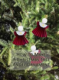 how to make angel tree ornaments a fun christmas craft it u0027s