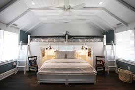 Barn Door Furniture Bunk Beds Tips For Squeezing In More Guest Beds