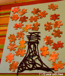 thricethespice two fall thanksgiving crafts for kids fall tree