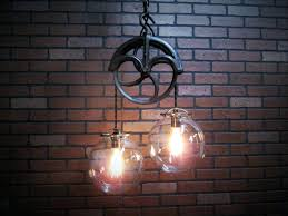 pulley system light fixtures lighting pulley system light fixtures chandelier home lighting