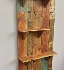 handcrafted rustic pallet bookcase 101 pallets fancy shelves