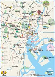 best tourist map of tokyo best attractions and restaurants map photos new zone