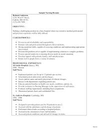 nursing student resume for internship nursing student resume cover letter exles sle form current