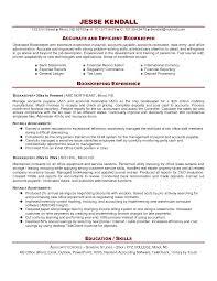 cover letter bookkeeping resume sample bookkeeper resume sample
