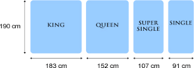 queen size bed inches king single is the new standard size home design