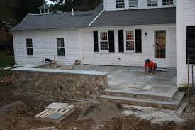 Building A Raised Patio Elevated Patios Raised Patio Masonry Picture Post Contractor