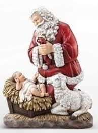 santa and baby jesus 24 joseph s studio kneeling santa with baby jesus