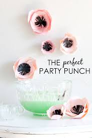 baby shower party punch recipes project nursery
