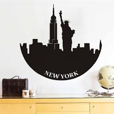 online get cheap liberty vinyl aliexpress com alibaba group dctop new york statue of liberty wall decals adhesive stickers home decor vinyl removable muursticker bedroom