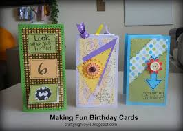 crafty night owls make your own personalized birthday cards