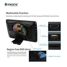 toyota highlander dvd headrest 10 1 inch hd universal replacement headrest monitor for toyota