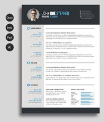 resume templates word 12 free and impressive cv resume templates in ms word format