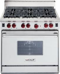 Wolf Gas Cooktops Wolf Df366 Lp 36