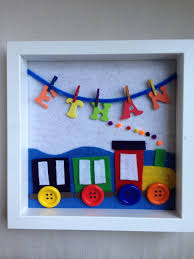 handmade personalized frame boy name ideal for gift or birthday