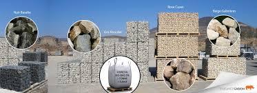 bloc de pierre pour mur choix des pierres pour vos gabions tendance gabion le gabion