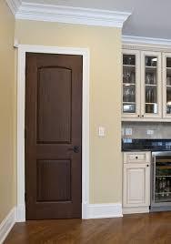 Dark Brown Laminate Wood Flooring Intresting Modern Simple Interior Door Design Ideas Come With