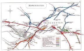 Map Of Manchester England by Manchester Exchange Railway Station