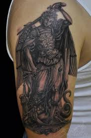 21 best archangel michael tattoo images on pinterest tattoo