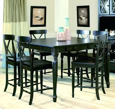 black counter height table set black counter height table set dining room sets for chairs cvid