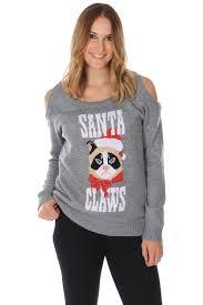 women u0027s cat christmas sweater tipsy elves holidays pinterest