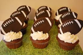 football cupcakes the baking sheet football cupcakes