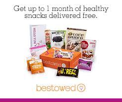 Snacks Delivered Bestowed Box Healthy Snacks Delivered Right To Your Door