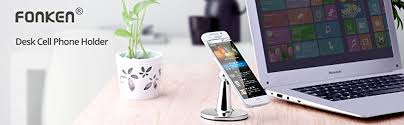 Cell Phone Holder For Desk Amazon Com Magnetic Mount Tabletop Holder Fonken Cell Phone Desk