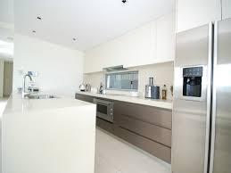 small modern galley kitchen interior design