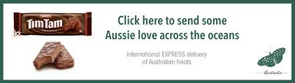 how to send australian chocolate such as tim tams overseas i