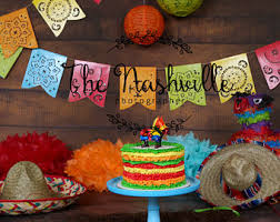 mexican fiesta cake etsy