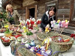 German Gift Basket Easter Feast Frohe Ostern German Easter Traditions