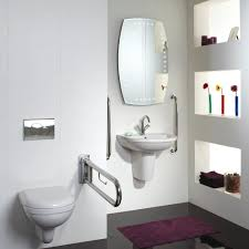 Stainless Toilets Saving Small Bathroom Spaces With Tall Toilets For Disabled With
