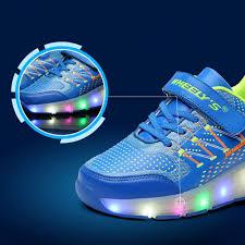 light up roller skate wheels kids shoes glowing sneakers with wheels children with wheels kids