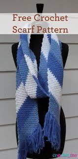 simple pattern crochet scarf free crochet simple striped scarf pattern interweave