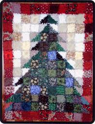 pattern oh christmas tree rag quilt