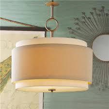 Drum Pendant Light Alluring Drum Shade Pendant Light Double Drum Pendant Large Shades