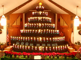 living christmas tree newburg first church of god