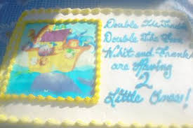noah u0027s ark baby shower cake