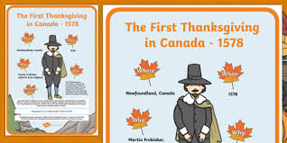 about the thanksgiving in canada poster a2
