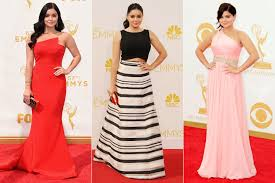 Red Carpet Entertainment Ariel Winter Wears High Slit Dress To Emmy Awards