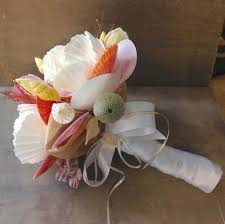 Seashell Bouquet Wedding Bouquets U2013 Sea Things Ventura