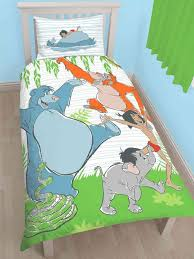 World Map Duvet Cover Uk by Jungle Book Mowgli Single Duvet Cover Set Polycotton Childrens