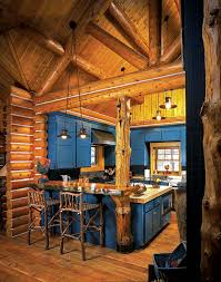Log Home Kitchens Classic Cabinet Elements