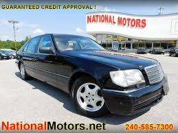 mercedes s class 1997 1997 mercedes s class s500 sedan for sale in waldorf md from