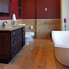Flooring For Bathroom Ideas Colors Best 25 Burgundy Bathroom Ideas On Pinterest Burgundy Room